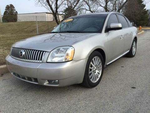 2007 Mercury Montego for sale at TruckMax in Laurel MD