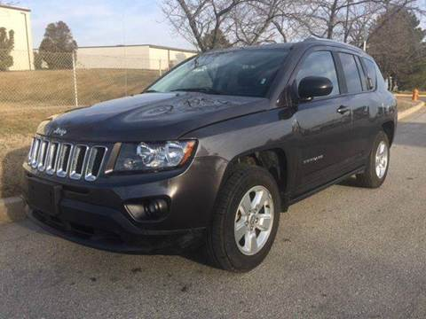 2014 Jeep Compass for sale at TruckMax in N. Laurel MD