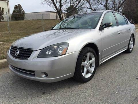 2005 Nissan Altima for sale at TruckMax in N. Laurel MD