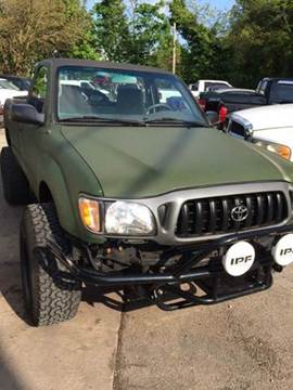 2001 Toyota Tacoma for sale at TruckMax in N. Laurel MD