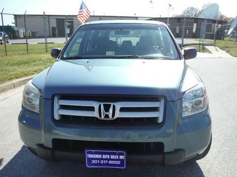 2006 Honda Pilot for sale at TruckMax in N. Laurel MD