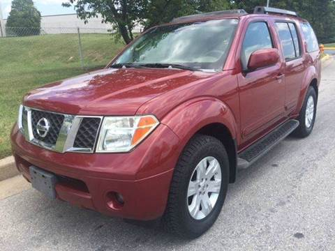 2005 Nissan Pathfinder for sale at TruckMax in N. Laurel MD