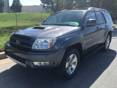 2005 Toyota 4Runner for sale at TruckMax in N. Laurel MD