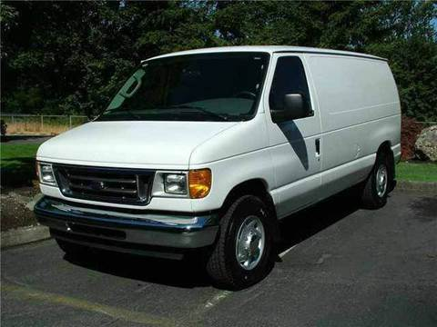 2006 Ford E-Series Cargo for sale at TruckMax in N. Laurel MD