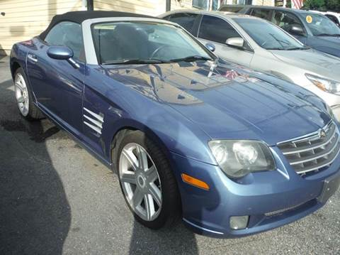 2005 Chrysler Crossfire for sale at TruckMax in N. Laurel MD