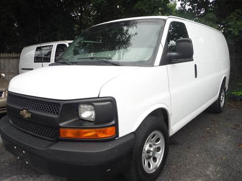 2010 Chevrolet Express Cargo for sale at TruckMax in N. Laurel MD
