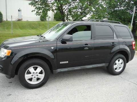 2008 Ford Escape for sale at TruckMax in N. Laurel MD