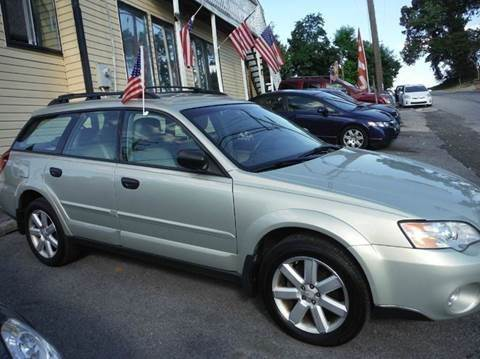 2007 Subaru Outback for sale at TruckMax in N. Laurel MD