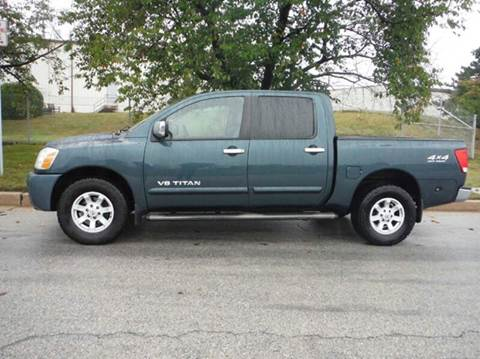 2005 Nissan Titan for sale at TruckMax in N. Laurel MD