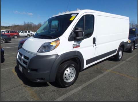 2014 RAM ProMaster Cargo for sale at TruckMax in N. Laurel MD