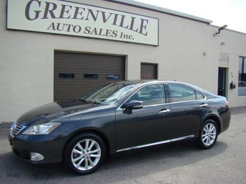 2010 Lexus ES 350 for sale at Greenville Auto Sales in Warwick RI