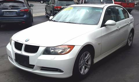 2008 BMW 3 Series for sale at Greenville Auto Sales in Warwick RI