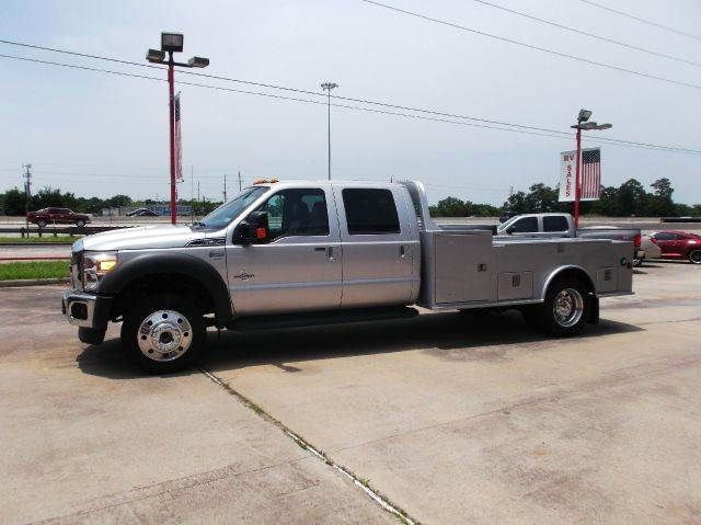 2014 Ford F-450 Super Duty Lariat 4x4 4dr Crew Cab 8 ft. LB DRW Pickup - Humble TX