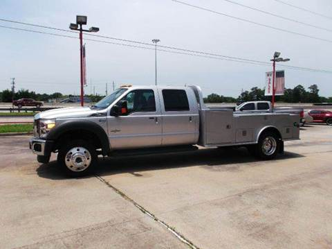 2014 Ford F-450 Super Duty for sale at Texas Best RV in Humble TX