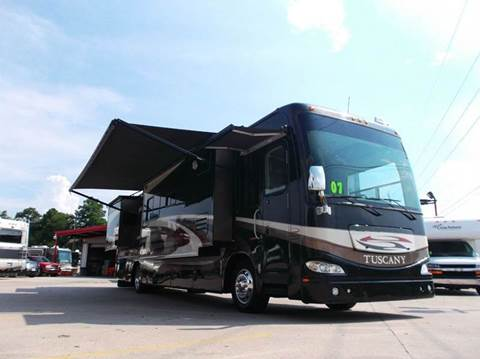 2007 Damon Tuscany 4076 for sale at Texas Best RV in Humble TX