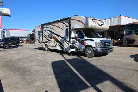 2016 Thor Industries OUTLAW 29H TOYHAULER for sale at Texas Best RV in Humble TX