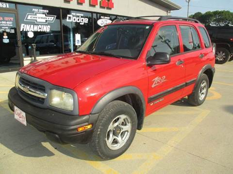 2002 Chevrolet Tracker for sale in Des Moines, IA