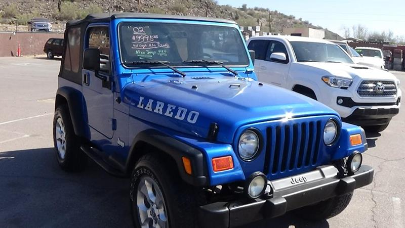 2002 Jeep Wrangler For Sale At GOT TRUCK CORPORATION In Mesa AZ