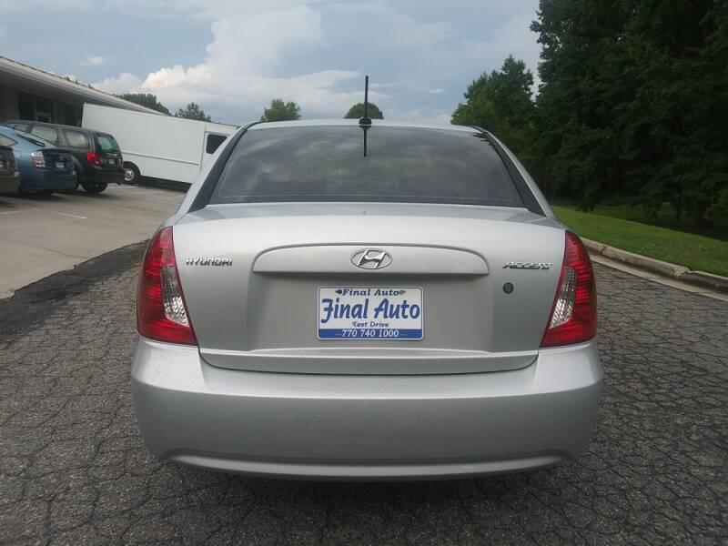 2010 Hyundai Accent GLS 4dr Sedan - Alpharetta GA