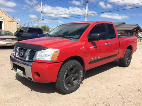 2007 Nissan Titan for sale at Independent Auto in Belle Fourche SD