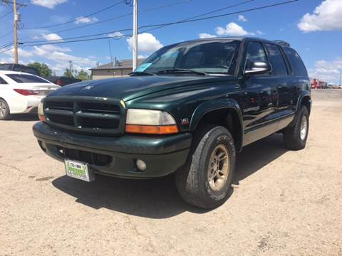 1998 Dodge Durango for sale at Independent Auto in Belle Fourche SD