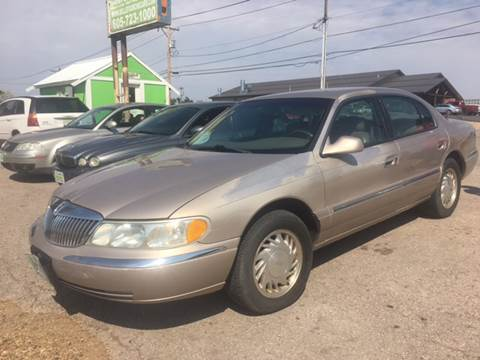 1998 Lincoln Continental for sale in Belle Fourche, SD