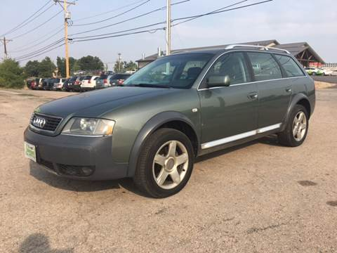 2005 Audi Allroad Quattro for sale at Independent Auto in Belle Fourche SD