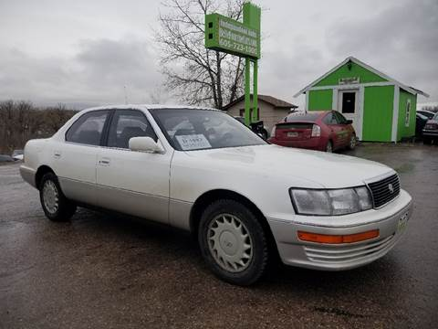1990 Lexus LS 400 for sale at Independent Auto in Belle Fourche SD