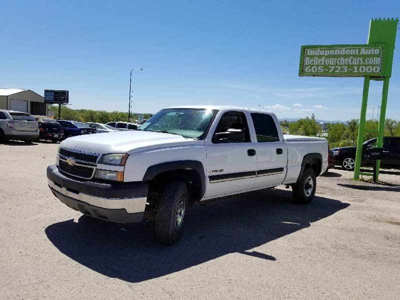 2005 Chevrolet Silverado 2500HD for sale at Independent Auto in Belle Fourche SD