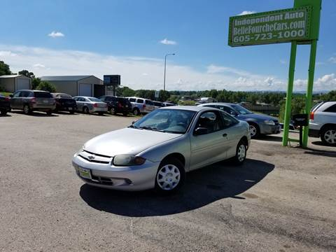2003 Chevrolet Cavalier for sale at Independent Auto in Belle Fourche SD