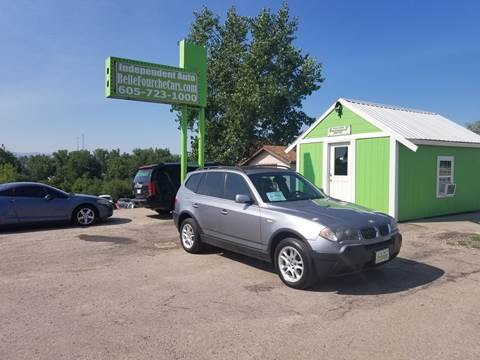2005 BMW X3 for sale at Independent Auto in Belle Fourche SD