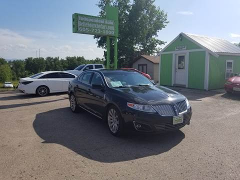 2009 Lincoln MKS for sale at Independent Auto in Belle Fourche SD