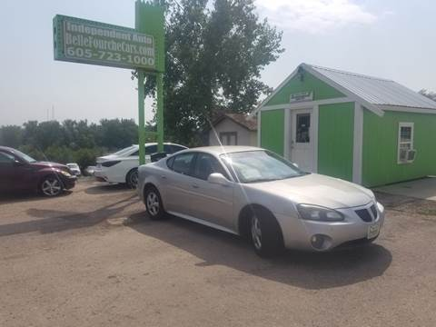 2007 Pontiac Grand Prix for sale at Independent Auto in Belle Fourche SD