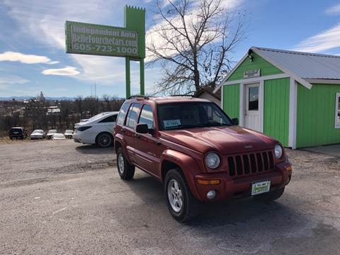 2002 Jeep Liberty for sale in Belle Fourche, SD