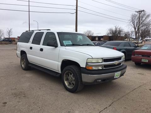 2003 Chevrolet Suburban for sale at Independent Auto in Belle Fourche SD
