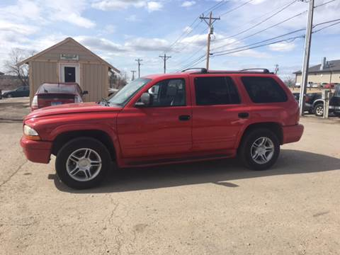 2000 Dodge Durango for sale at Independent Auto in Belle Fourche SD