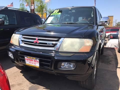 2001 Mitsubishi Montero for sale in San Diego, CA