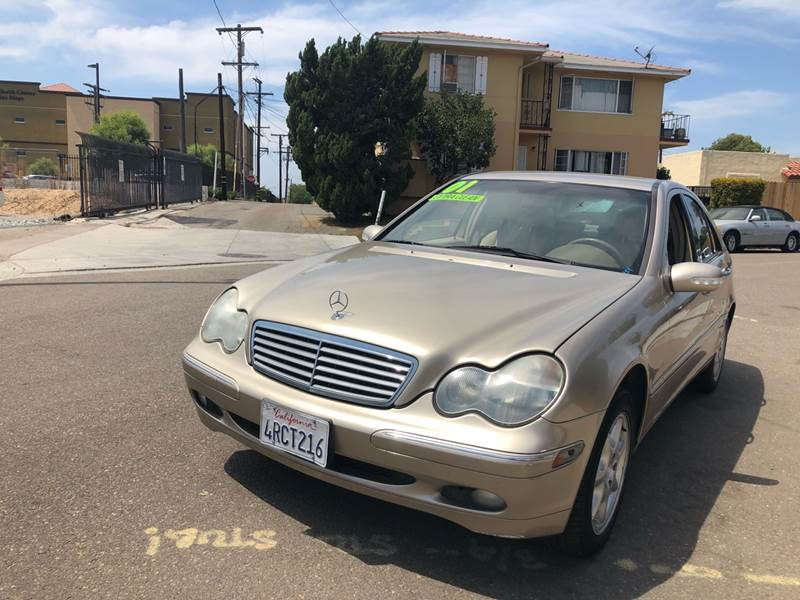 2001 Mercedes-Benz C-Class for sale at Paykan Auto Sales Inc in San Diego CA