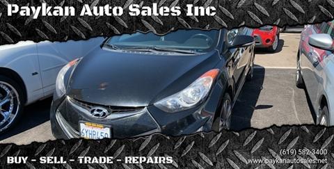 Hyundai Elantra For Sale In San Diego Ca Paykan Auto Sales Inc