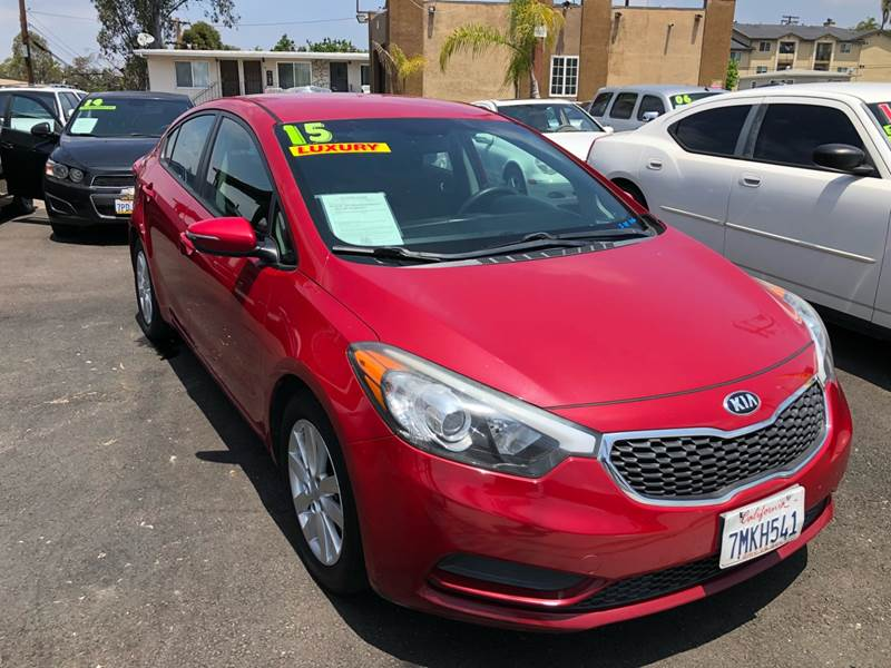 2015 Kia Forte for sale at Paykan Auto Sales Inc in San Diego CA