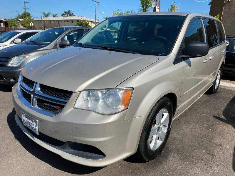 2013 Dodge Grand Caravan for sale at Paykan Auto Sales Inc in San Diego CA