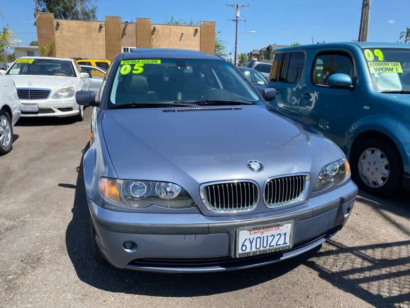 2005 BMW 3 Series for sale at Paykan Auto Sales Inc in San Diego CA