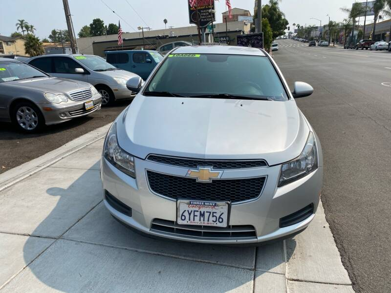 2013 Chevrolet Cruze for sale at Paykan Auto Sales Inc in San Diego CA
