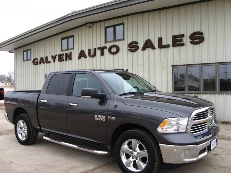2017 RAM Ram Pickup 1500 for sale at Galyen Auto Sales Inc. in Atkinson NE