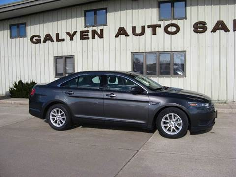 2015 Ford Taurus for sale at Galyen Auto Sales Inc. in Atkinson NE