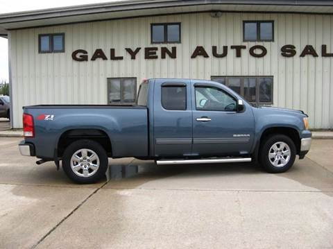 2013 GMC Sierra 1500 for sale at Galyen Auto Sales Inc. in Atkinson NE