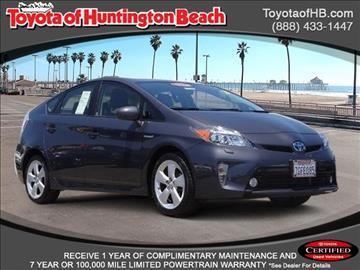 2014 Toyota Prius for sale in Huntington Beach, CA