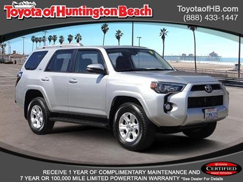 2016 Toyota 4Runner for sale in Huntington Beach, CA
