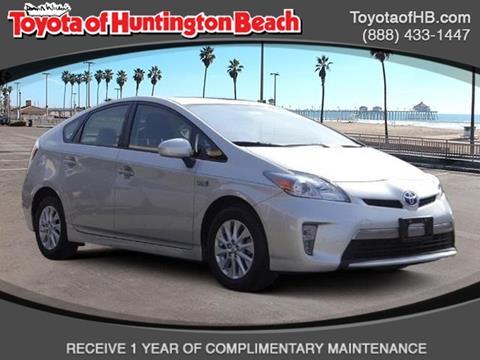 2014 Toyota Prius Plug-in Hybrid for sale in Huntington Beach, CA