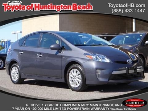2015 Toyota Prius Plug-in Hybrid for sale in Huntington Beach, CA